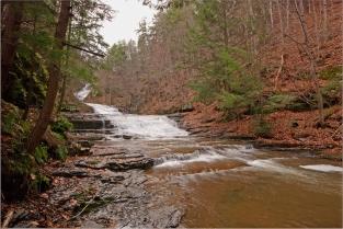 Huyck Preserve Waterfall