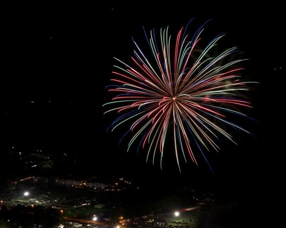 Fireworks over the Fair