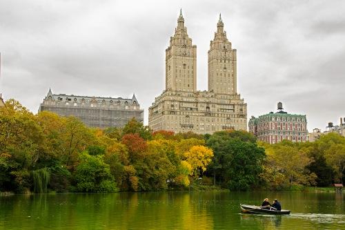 Central Park Rowboat