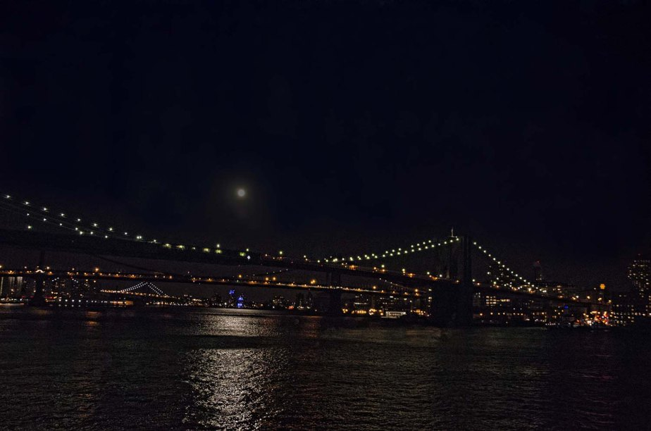 Brooklyn Bridge Nighttime