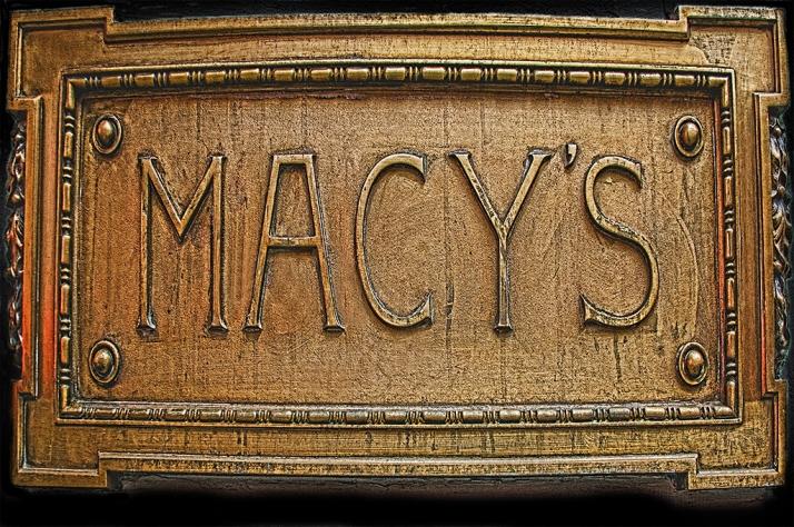 Macys Sign