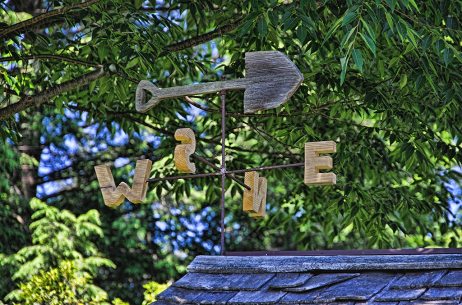 Garden Shed Weathervane