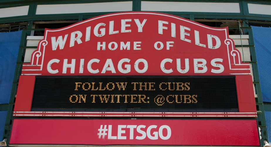 Wrigley Field Marquee