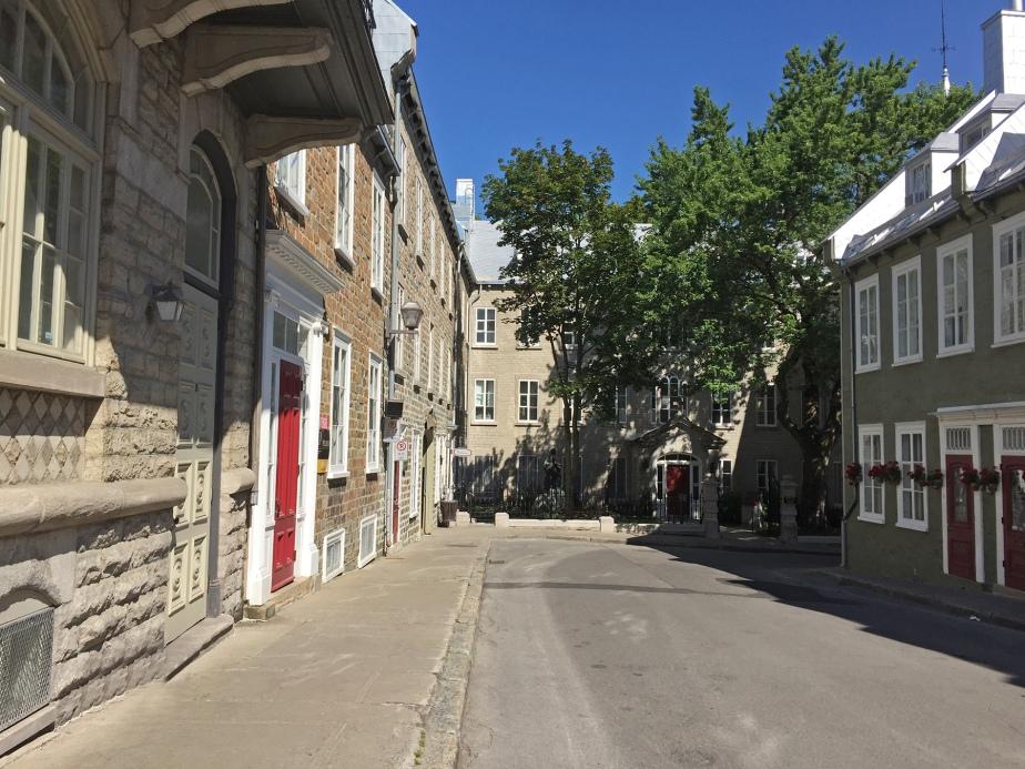 QuebecCitySideStreet